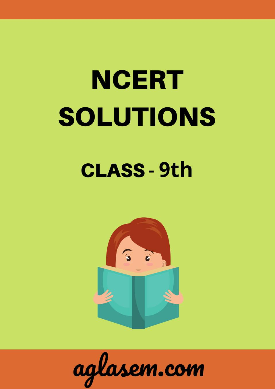 NCERT Solutions for Class 9 Maths Chapter 9 Areas of Parallelograms and Triangles