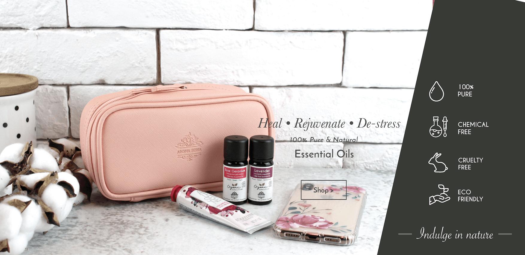 Aroma Tierra 100% pure essential oils