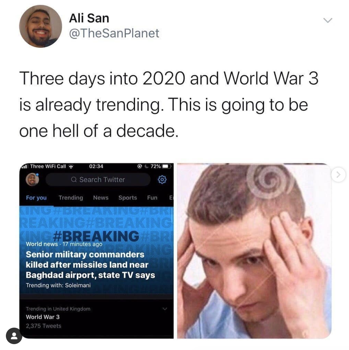 is there going to be a ww3 2020