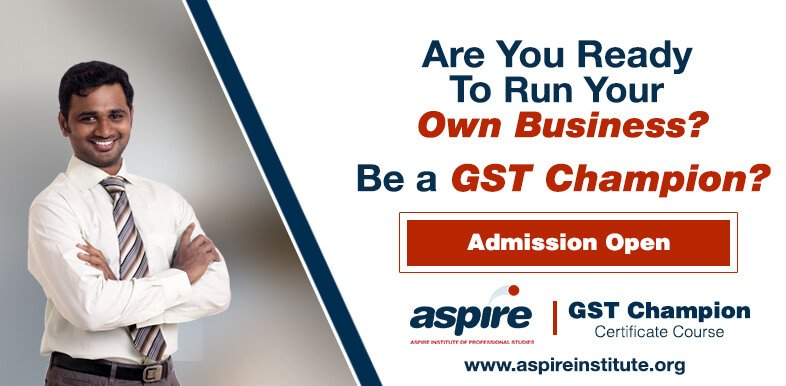 Aspire GST Champion Course and Training