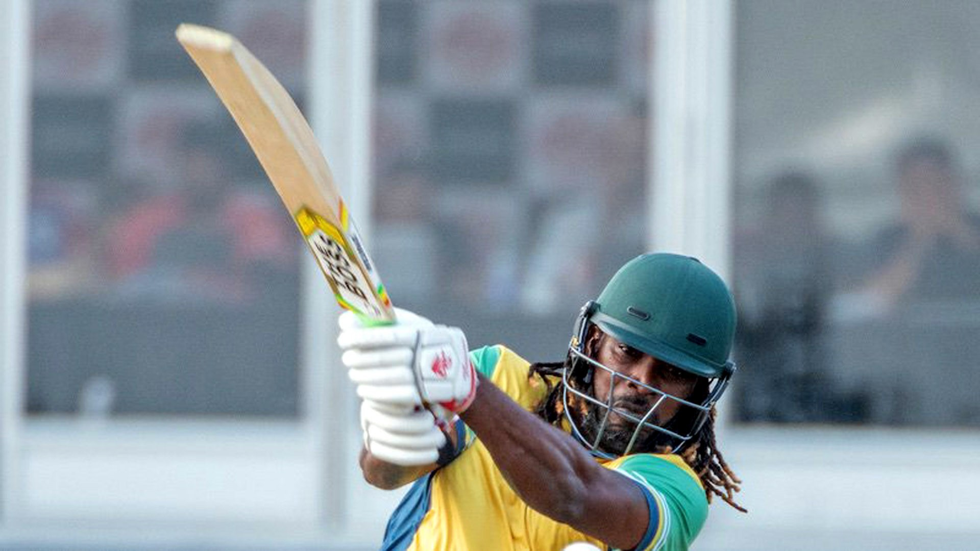 Chris Gayle scored a century for Vancouver Knights in Global T20 Canada.