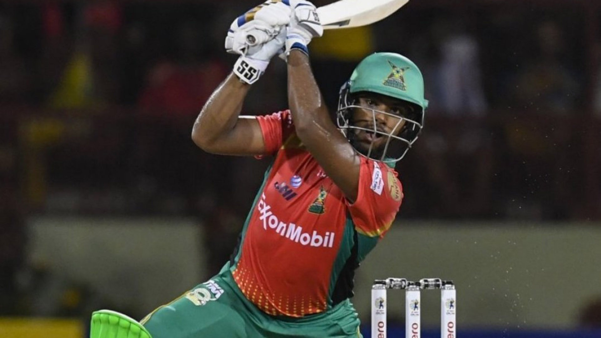 Nicholas Pooran scored a blazing fifty for Guyana Amazon Warriors in the CPL.