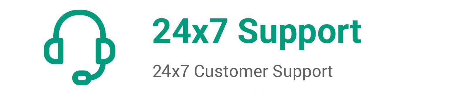 24*7 Customer Support