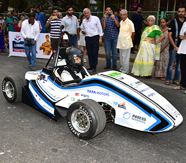 Partnering with Students of IIT Bombay, for an electric car
