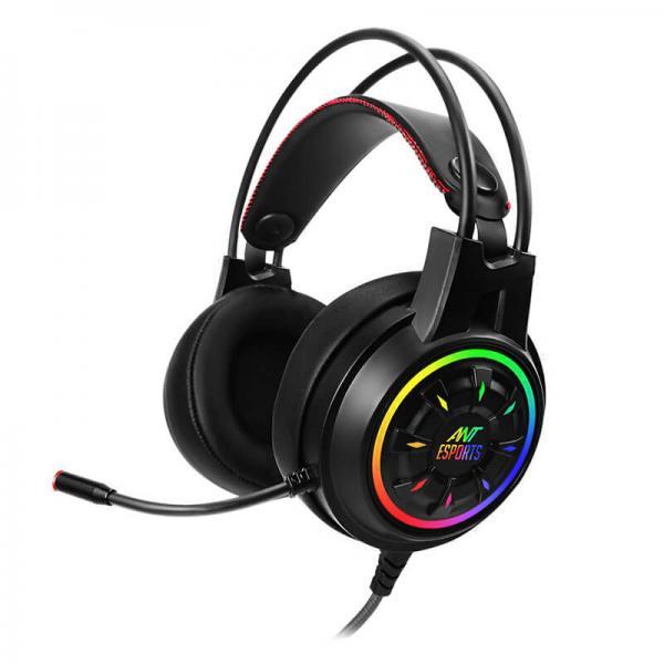 Ant Esports H707 HD RGB LED Gaming Headset