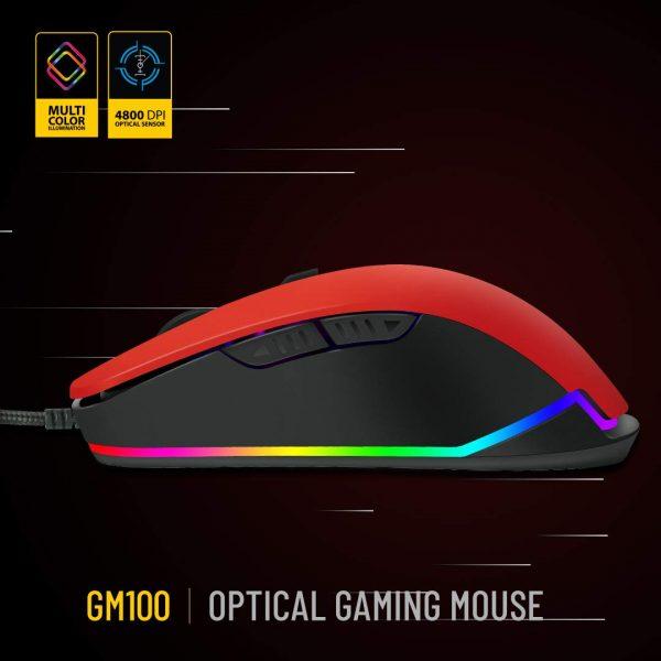 Ant Esports GM100 RGB (Red)