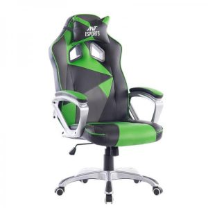 Ant Esports 8077 Gaming Chair Black-Green