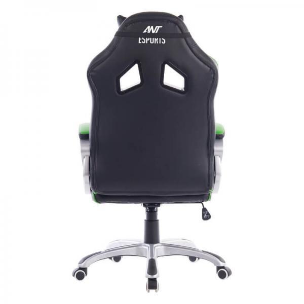 Ant Esports 8077 Gaming Chair Black-Green
