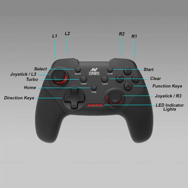 Ant Esports GP300 Pro Wireless Controller