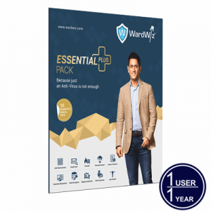 WardWiz ESSENTIAL PLUS Complete Internet security 1 USER 1 YEAR