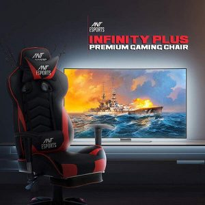 ANT-ESPORTS INFINITY PLUS RED & BLACK GAMING CHAIR