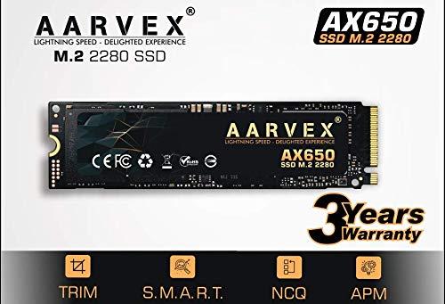 AARVEX AX650 M.2 2280 SATA SSD 256 GB