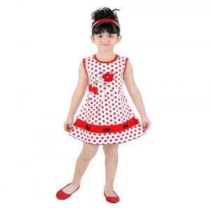Radcart Red Cotton Frock