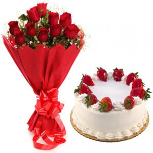 Cake & Flowers Online Delivery