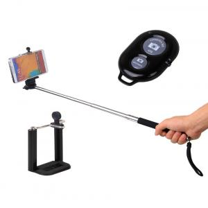 Cellphonez Universal Mobile Monopod & Bluetooth Remote Shutter