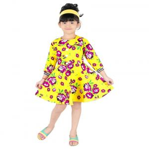 Pinky Yellow Frock