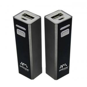 Ambrane P-200 2000mah Black Power Bank With Usb Cable - Buy One Get One Free