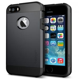 Casetech Spigen Back Cover For I Phone 4s With Hole Gun Metal