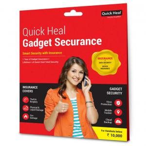 Quick Heal Gadget Securance With Total Security Software With 3 Years Validity For Under 10000 Phone