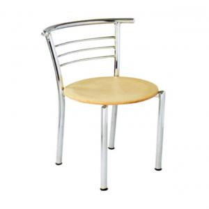 Office Style Furniture Beige Natural Cafeteria Chairs