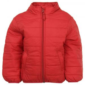 United Colors Of Benetton Red High Neck Jacket