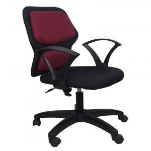 Star Office Chair In Maroon