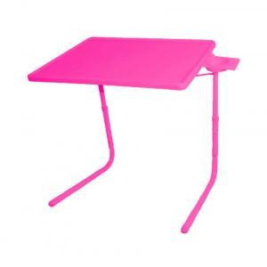 Skyshopproducts Pink Table Mate Ii 2- Folding Portable Adjustable