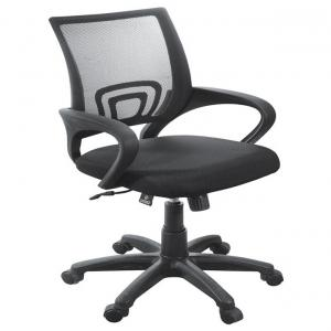 Low Back Office Chair In Black