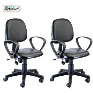 S M Chairs Black Plastic Base