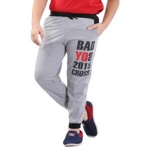 Fizzi Gray Trackpants For Boys