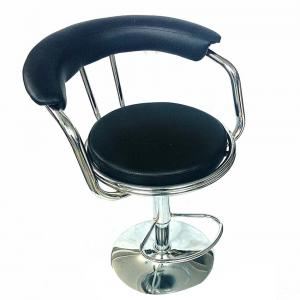 Hi Tech Black Cafeteria And Bar Chair