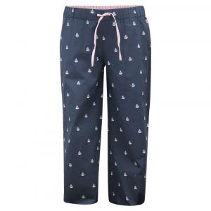 The Cranberry Club Navy Blue Cotton Pyjama