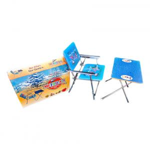 Metro Toy Silver Big Table Chair