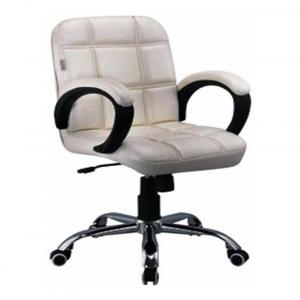 Marc Black Metal And Plastic French Style Office Chair