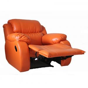 1 Seater Maual Recliner In Orange