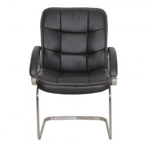 Medium Back Office Chair In Black