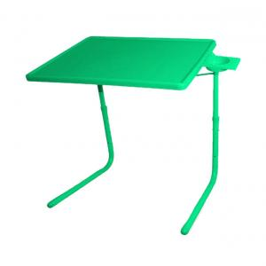 Hlp Green Table Mate Ii 2 Folding Portable Adjustable Table With Cup Holder