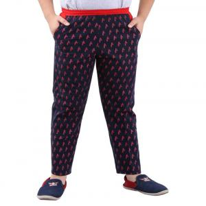 Fizzi Blue Trackpants For Boys
