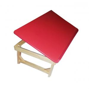 Nonie Berzer Red Wooden Laptop & Bed Table