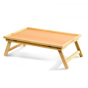 Wooden Multipurpose Folding Bed Table