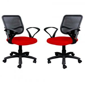 Buy 1 Office Chair Get 1 Free In Red