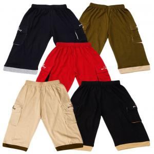 Provalley Pack of 5 Capris For Boys