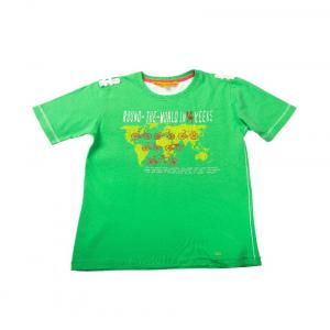 UFO Green Color Printed T-Shirt For Kids