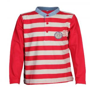 Ello Half Sleeve Red Color Round Neck T-Shirts For Kids