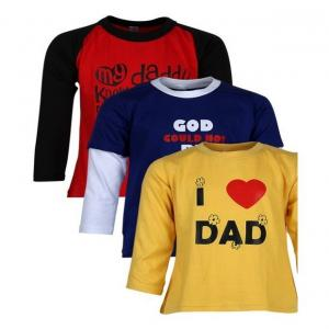 Goodway Junior Boys M&D -3 - Red, Royal , Yellow Combo Pack of 3