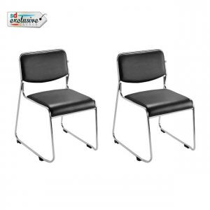 S M Chairs Black Matal Office Chair Gas Lifting Machine