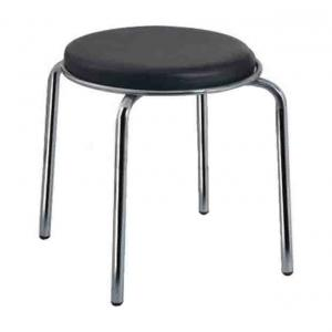S M Chairs Mini Stool Four Pipe Frame