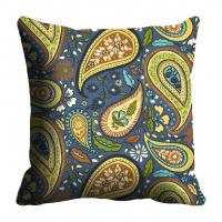 Green Paisely Cushion Cover