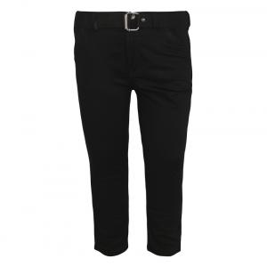 Jazzup Black Cotton Pant For Boys