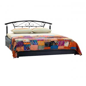 Furniture Kraft Classy Double Bed With Storage